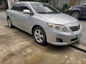 Silver Toyota Corolla Altis 2008 for sale in Quezon City
