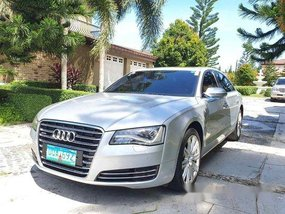 Selling Silver Audi A8 2012 Automatic Diesel
