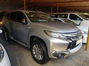 Selling Silver Mitsubishi Montero Sport 2018 Automatic Diesel
