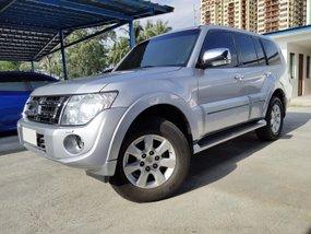 Silver 2014 Mitsubishi Pajero Automatic Diesel for sale