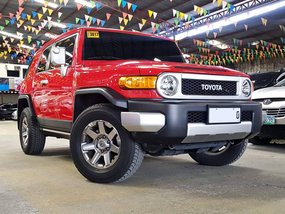 2016 Toyota FJ Cruiser 4x4 Automatic with Casa Records for sale in Quezon City