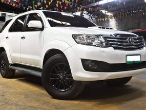 2013 Toyota Fortuner 2.5 4X2 G Diesel Automatic White Pearl for sale in Quezon City