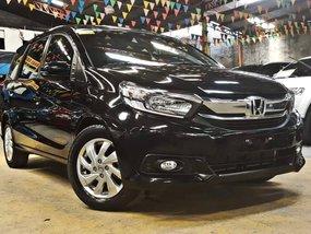 Black 2018 Honda Mobilio 1.5 V CVT Automatic 10000 km for sale in Quezon City