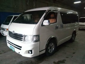 Sell 2nd Hand 2014 Toyota Hiace Automatic Diesel in Lucena