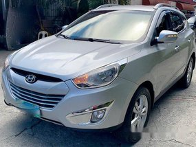 Silver Hyundai Tucson 2011 for sale in Pasig