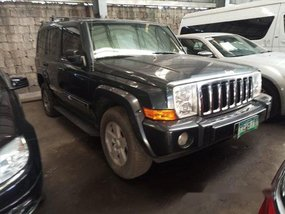 Sell Black 2008 Jeep Commander at 52000 km