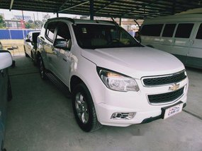 White Chevrolet Trailblazer 2014 Automatic Diesel for sale