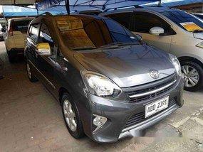 Selling Grey Toyota Wigo 2017 Automatic Gasoline at 18092 km