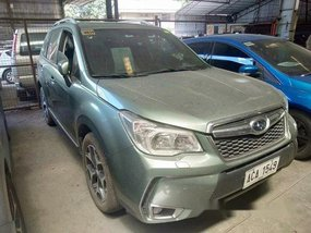 Green Subaru Forester 2014 at 57000 km for sale