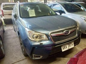 Selling Blue Subaru Forester 2014 at 62000 km