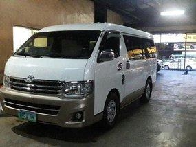 Sell White 2013 Toyota Hiace in Makati