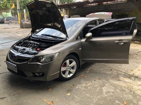Red Honda Civic 2009 for sale in Plaridel