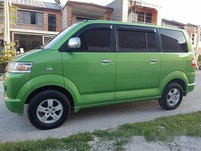 Sell Green 2008 Suzuki Apv at 58000 km