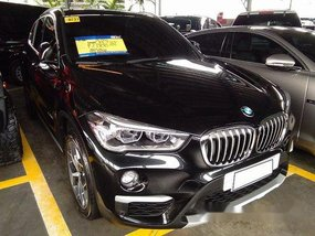 Selling Black Bmw X1 2018 Automatic Diesel at 5085 km