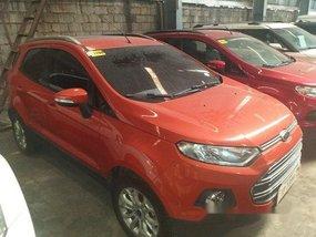 Orange Ford Ecosport 2017 for sale