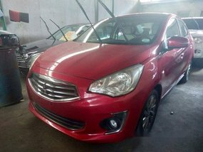 Red Mitsubishi Mirage G4 2016 Automatic for sale