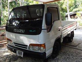 White 2017 Isuzu Elf Manual Diesel for sale