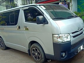Used TOYOTA HI ACE COMMUTER DIESEL ENGINE ALLPOWER 2015 MDL for sale in Quezon City
