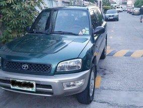 Green Toyota Rav4 1998 Automatic Gasoline for sale