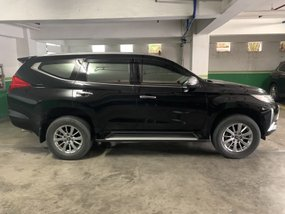 Black 2016 Mitsubishi Montero Sport Automatic at 22000 km for sale