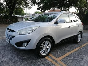 Silver 2012 Hyundai Tucson Automatic Diesel for sale