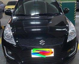 Selling Black Suzuki Swift 2014 Automatic Gasoline
