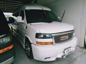 White Gmc Savana 2014 for sale in Quezon City