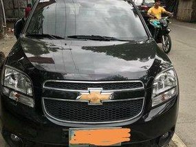 Black Chevrolet Orlando 2012 at 27000 km for sale