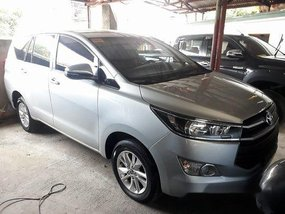 Silver Toyota Innova 2019 Manual Gasoline for sale