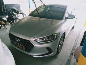 Silver Hyundai Elantra 2016 for sale in Quezon City