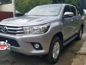 Silver Toyota Hilux 2017 for sale in Quezon City