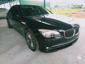 Selling Black Bmw 750Li 2013 in Quezon City