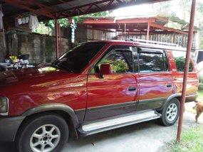 Red 1998 Isuzu Hi-lander Crosswind for sale in Quezon City