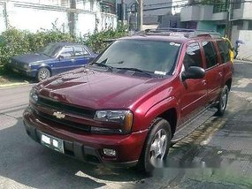 Used Chevrolet Trailblazer 2005 Automatic Gasoline at 94000 km for sale in Quezon City
