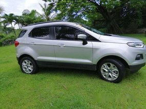 Silver Ford Ecosport 2017 at 9000 km for sale
