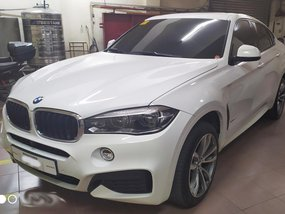 2018 BMW X6 3.0D Alphine White for sale in Quezon City
