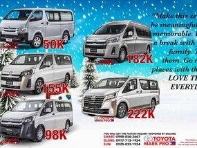 2020 Toyota Hiace Van Sale in Manila
