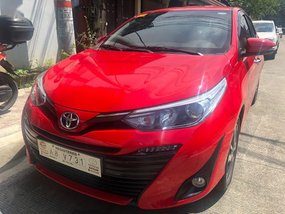 Sell Red 2019 Toyota Vios in Quezon City