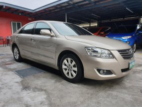 Beige Toyota Camry 2008 2.4 V Automatic