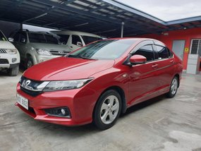 Red Honda City 2017 Automatic for sale in Las Pinas