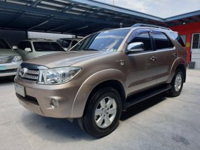 Beige Toyota Fortuner 2010 G Gas Automatic for sale in Las Pinas