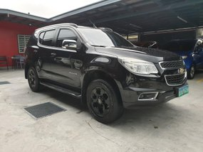 Black Chevrolet Trailblazer 2013 LTZ 4x4 Automatic in Las Pinas