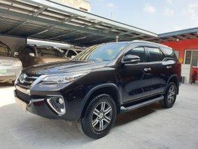 Black Toyota Fortuner 2016 G Diesel Automatic in Las Pinas
