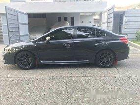 Grey Subaru Wrx 2018 Automatic Gasoline for sale