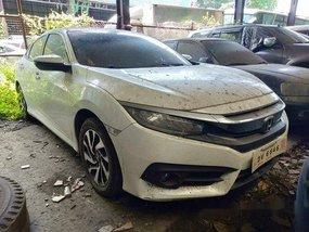 Selling White Honda Civic 2017 in Makati