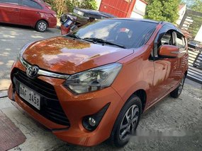 Used Toyota Wigo 2017 Automatic Gasoline for sale in Quezon City