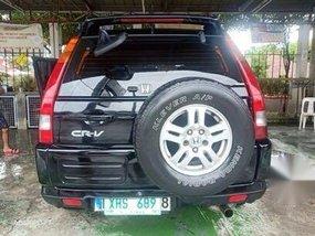 Second-hand Black Honda Cr-V 2004 in Manila