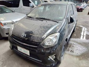 Black Toyota Wigo 2017 at 29000 km for sale