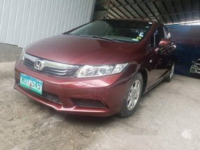 Used Honda Civic 2013 Manual Gasoline for sale in Quezon City