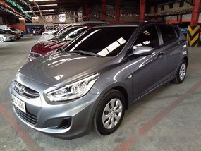 Grey Hyundai Accent 2015 Hatchback Automatic Diesel for sale